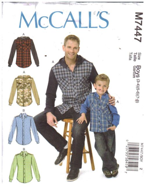 McCalls M7447