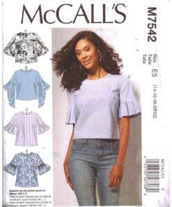McCalls M7542