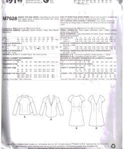 McCalls M7628 1