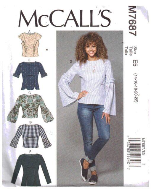McCalls M7687