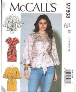 McCalls M7803