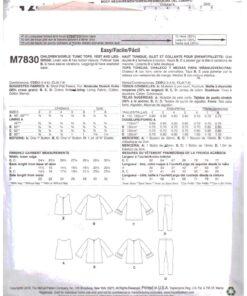 McCalls M7830 1