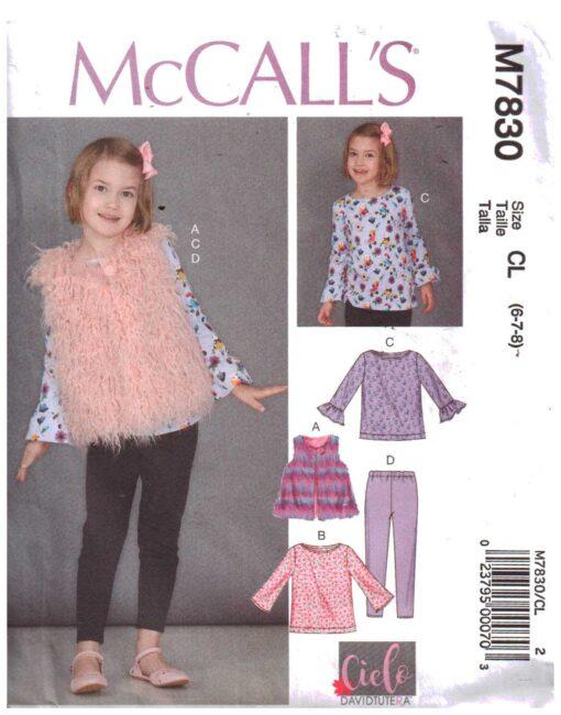 McCalls M7830