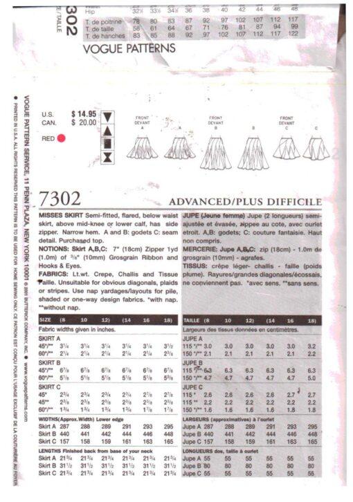 Vogue 7302 1