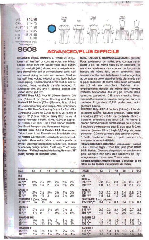 Vogue 8608 1