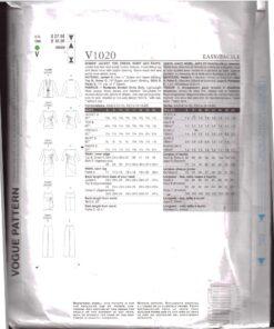 Vogue V1020 1