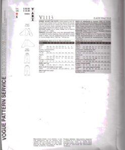 Vogue V1113 1
