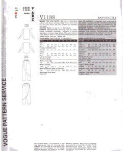 Vogue V1188 1