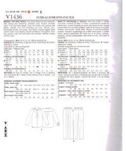 Vogue V1436 1