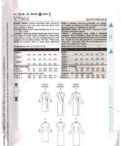 Vogue V7964 1