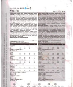 Vogue V8060 1
