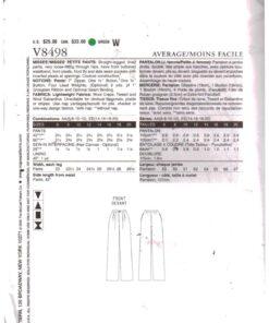 Vogue V8498 1