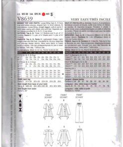 Vogue V8639 1