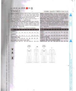 Vogue V8663 1