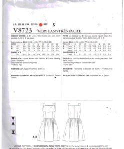 Vogue V8723 1