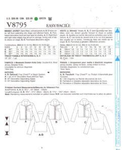 Vogue V8795 1