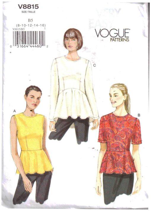Vogue V8815