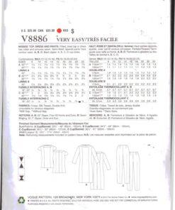 Vogue V8886 1