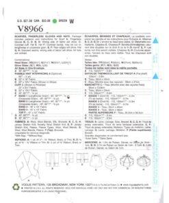 Vogue V8966 1