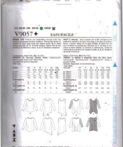 Vogue V9057 1