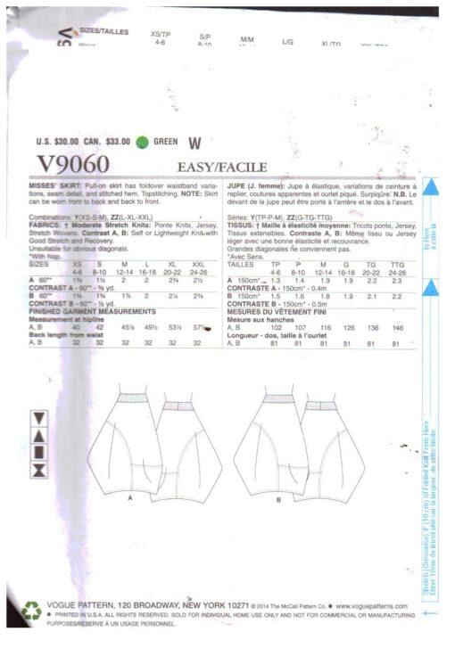 Vogue V9060 1