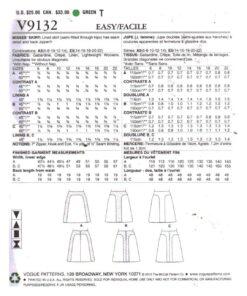 Vogue V9132 1