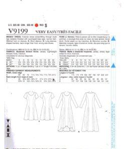 Vogue V9199 1