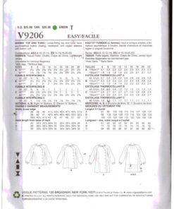 Vogue V9206 1