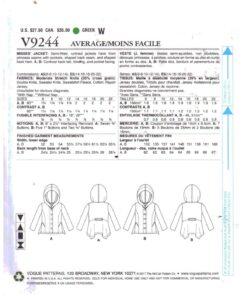 Vogue V9244 1