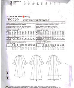 Vogue V9279 1
