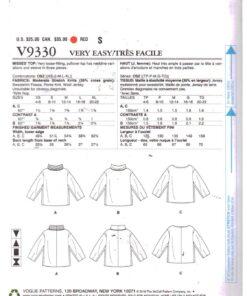 Vogue V9330 1