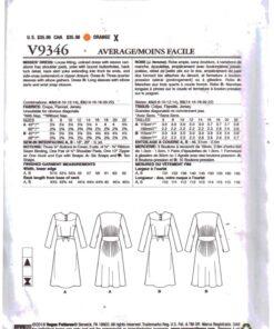 Vogue V9346 1